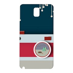 Camera Vector Illustration Samsung Galaxy Note 3 N9005 Hardshell Back Case
