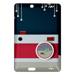 Camera Vector Illustration Amazon Kindle Fire Hd (2013) Hardshell Case