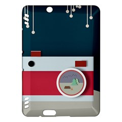 Camera Vector Illustration Kindle Fire Hdx Hardshell Case