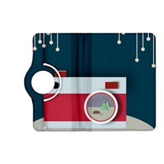 Camera Vector Illustration Kindle Fire HD (2013) Flip 360 Case