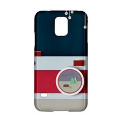 Camera Vector Illustration Samsung Galaxy S5 Hardshell Case