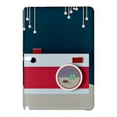 Camera Vector Illustration Samsung Galaxy Tab Pro 12 2 Hardshell Case