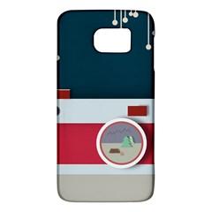 Camera Vector Illustration Galaxy S6