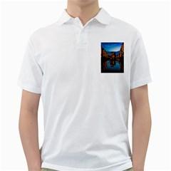 Hamburg City Blue Hour Night Golf Shirts