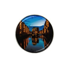 Hamburg City Blue Hour Night Hat Clip Ball Marker (10 Pack)