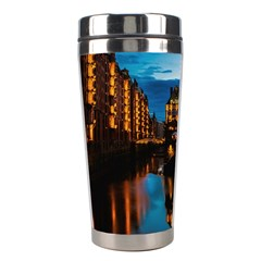 Hamburg City Blue Hour Night Stainless Steel Travel Tumblers