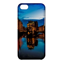 Hamburg City Blue Hour Night Apple Iphone 5c Hardshell Case