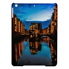 Hamburg City Blue Hour Night Ipad Air Hardshell Cases