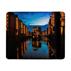 Hamburg City Blue Hour Night Samsung Galaxy Tab Pro 8 4  Flip Case