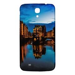 Hamburg City Blue Hour Night Samsung Galaxy Mega I9200 Hardshell Back Case