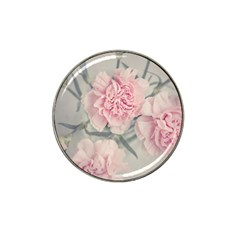 Cloves Flowers Pink Carnation Pink Hat Clip Ball Marker