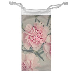 Cloves Flowers Pink Carnation Pink Jewelry Bag