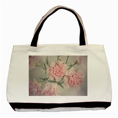 Cloves Flowers Pink Carnation Pink Basic Tote Bag
