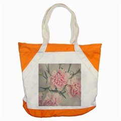 Cloves Flowers Pink Carnation Pink Accent Tote Bag