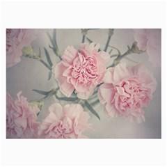 Cloves Flowers Pink Carnation Pink Large Glasses Cloth