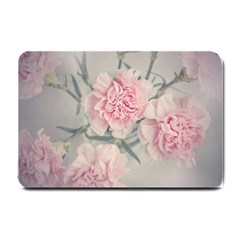 Cloves Flowers Pink Carnation Pink Small Doormat