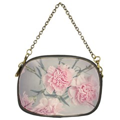 Cloves Flowers Pink Carnation Pink Chain Purses (one Side)