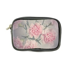 Cloves Flowers Pink Carnation Pink Coin Purse