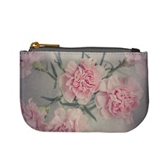 Cloves Flowers Pink Carnation Pink Mini Coin Purses
