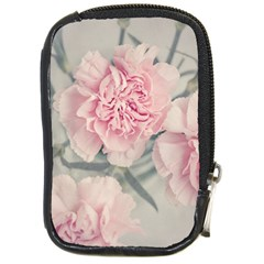 Cloves Flowers Pink Carnation Pink Compact Camera Cases
