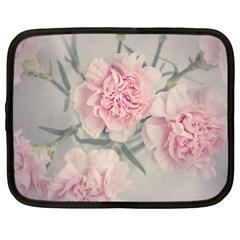 Cloves Flowers Pink Carnation Pink Netbook Case (xl)