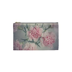 Cloves Flowers Pink Carnation Pink Cosmetic Bag (small)