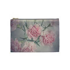 Cloves Flowers Pink Carnation Pink Cosmetic Bag (medium)