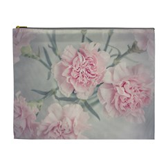 Cloves Flowers Pink Carnation Pink Cosmetic Bag (xl)