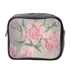 Cloves Flowers Pink Carnation Pink Mini Toiletries Bag 2 Side