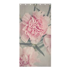 Cloves Flowers Pink Carnation Pink Shower Curtain 36  X 72  (stall)