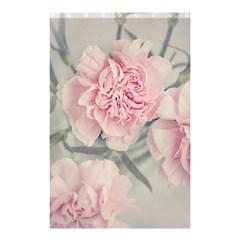 Cloves Flowers Pink Carnation Pink Shower Curtain 48  X 72  (small)
