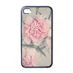 Cloves Flowers Pink Carnation Pink Apple Iphone 4 Case (black)