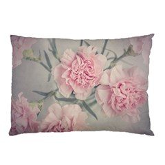 Cloves Flowers Pink Carnation Pink Pillow Case (two Sides)