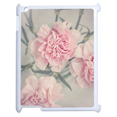 Cloves Flowers Pink Carnation Pink Apple Ipad 2 Case (white)
