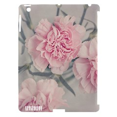 Cloves Flowers Pink Carnation Pink Apple Ipad 3/4 Hardshell Case (compatible With Smart Cover)