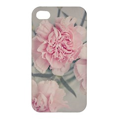 Cloves Flowers Pink Carnation Pink Apple Iphone 4/4s Premium Hardshell Case