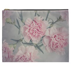 Cloves Flowers Pink Carnation Pink Cosmetic Bag (xxxl)