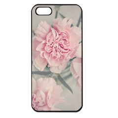 Cloves Flowers Pink Carnation Pink Apple Iphone 5 Seamless Case (black)