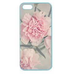 Cloves Flowers Pink Carnation Pink Apple Seamless Iphone 5 Case (color)