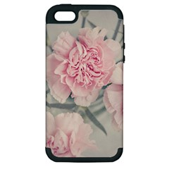Cloves Flowers Pink Carnation Pink Apple Iphone 5 Hardshell Case (pc+silicone)