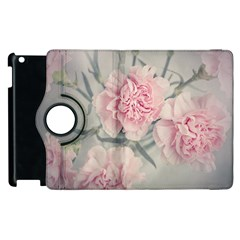 Cloves Flowers Pink Carnation Pink Apple Ipad 3/4 Flip 360 Case