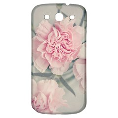 Cloves Flowers Pink Carnation Pink Samsung Galaxy S3 S Iii Classic Hardshell Back Case
