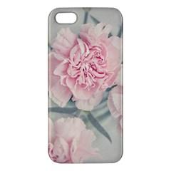 Cloves Flowers Pink Carnation Pink Apple Iphone 5 Premium Hardshell Case