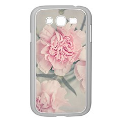 Cloves Flowers Pink Carnation Pink Samsung Galaxy Grand Duos I9082 Case (white)