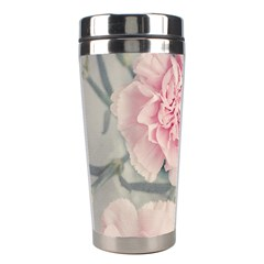 Cloves Flowers Pink Carnation Pink Stainless Steel Travel Tumblers