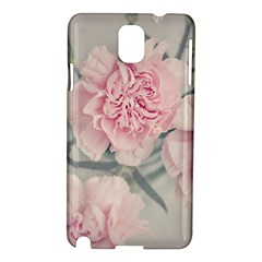Cloves Flowers Pink Carnation Pink Samsung Galaxy Note 3 N9005 Hardshell Case