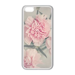 Cloves Flowers Pink Carnation Pink Apple Iphone 5c Seamless Case (white)