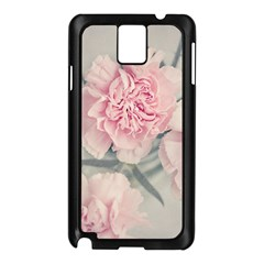 Cloves Flowers Pink Carnation Pink Samsung Galaxy Note 3 N9005 Case (black)