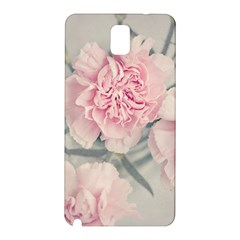 Cloves Flowers Pink Carnation Pink Samsung Galaxy Note 3 N9005 Hardshell Back Case