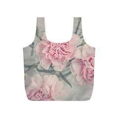 Cloves Flowers Pink Carnation Pink Full Print Recycle Bags (s)